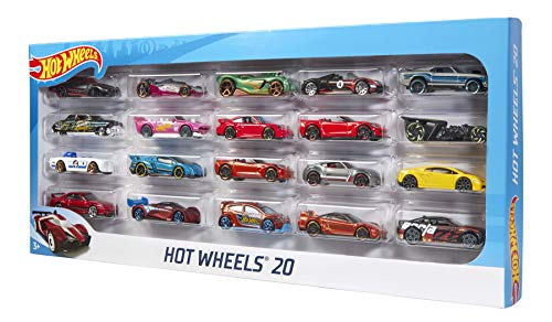 Hot Wheels Party Favors (Hot Wheels 20 Car Gift Pack (Styles May Vary), Standard)