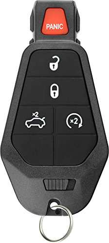 KeylessOption Keyless Entry Remote Control Car Key Fob Starter Alarm for Dodge Chrysler Jeep