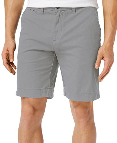 Classic Core Shorts - Tommy Hilfiger Men's Core Classic Fit Flat Front Shorts (Drizzle, 42)