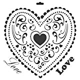 Crafter's Workshop 12 Inch x12 Inch Templates - Love Heart