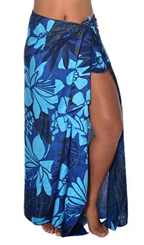 Rainforest Batiks (Casual Movements Women's Tropical Rainforest Swimsuit Coverup Blue70