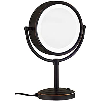 Amazon Com Gurun 5x Magnifying Mirror 8 5 Inch Tabletop