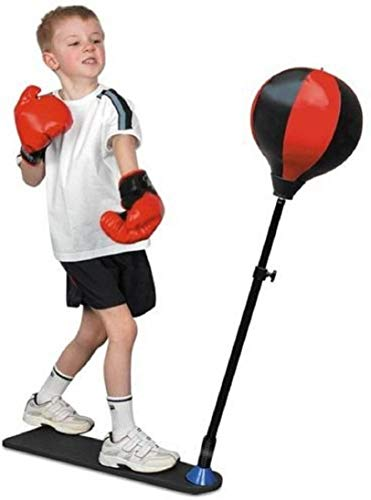 XPEED Champ Set Free Punching Speed Ball Boxing Set with Glove & Adjustable Standing Punch Ball for 4-10 Yr Kids Price & Reviews