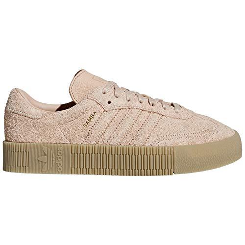 - adidas Originals Women's Sambarose Low Top Sneakers Beige in Size US 7