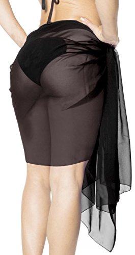 confezioni 2 mini da gonna LA metà bagno donne avvolgere costume pareo sarong sciarpa LEELA ERB0ffqWpc