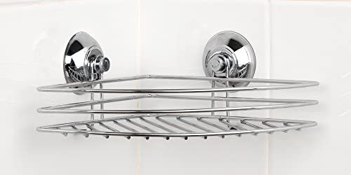 Beldray LA036155 Corner Suction Shower Basket