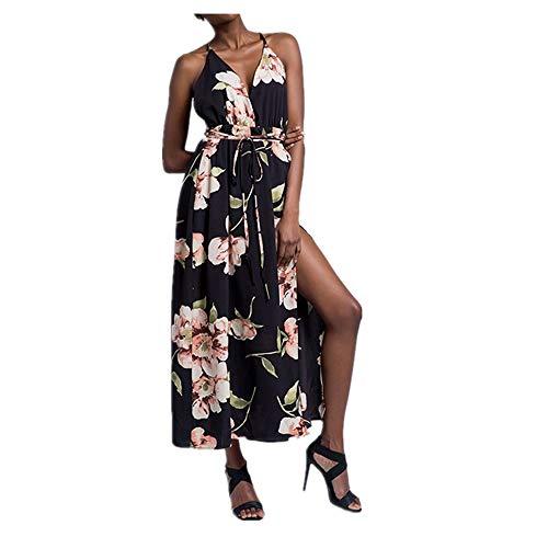 la Isbxn Color Elegante sin XL de Vestido de Green Atractivo de Playa Las Color Size Playa señoras la Tirantes Mujeres Apricot rYwrEZx