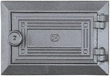 Limpiador para puerta pladur Chimenea Madera del Horno Puerta estufas Horno Puerta Hierro Fundido 185 x 125
