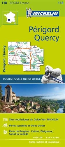 France ZOOM Map 118 : Quercy Périgord (French Edition)