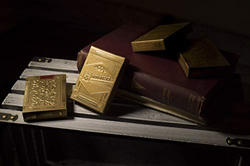 theory11 Gold Monarchs Playing Cards