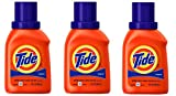 Tide Liquid Laundry Detergent, Original Scent, Travel Size 10oz (3 Pack)