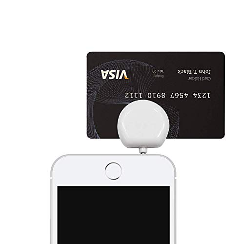 Fuze Card : Credit/Debit Magnetic Stripe Card Reader dongle for Fuze Card (with Headset Jack), FuzeCard