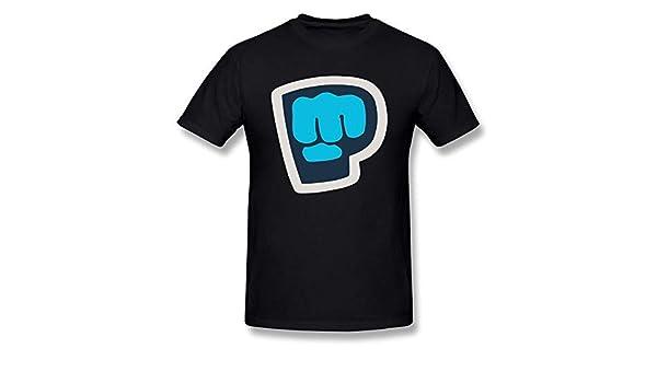 Playera de Verano para Hombre con Logo de Youtube Pewdiepie ...