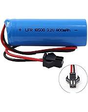 3.2V 800 mAh (18500) LiFeP04 Battery Pack for Gama Sonic Solar Lights