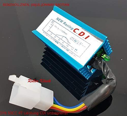 Steuergerät Cdi 5 Pin Leistung Cdi Box F R 50cc 70cc 90cc 110cc 125cc Atv Dirtbike Go Kart Auto