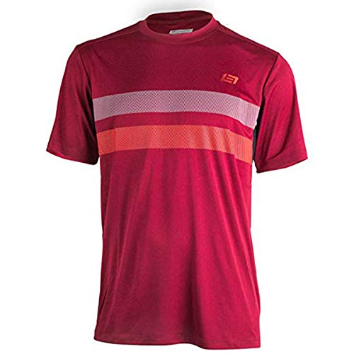 Bellwether 2017 Men's Power Line Short Sleeve Cycling Jersey - 61173 (Burgundy - -