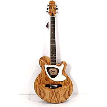 926554528a9 Amazon.com: Acoustic Electric Cutaway Guitar, Thin Body, Built-In ...