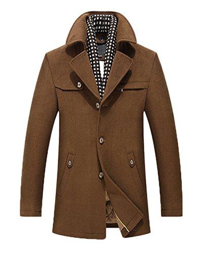 Blend Button Front Coat - 3