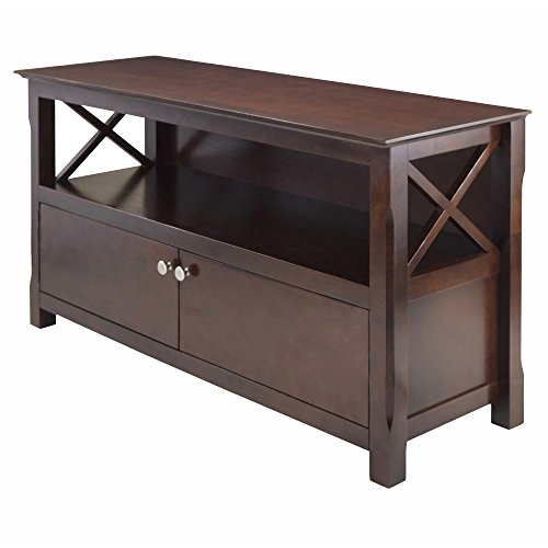 Wood Flat Screen Tv - Winsome Wood Xola TV Stand