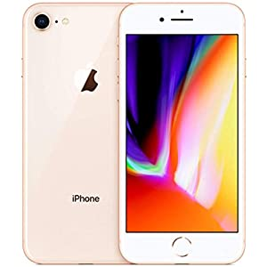 Apple iPhone 8, 64GB, Gold – For AT&T / T-Mobile (Renewed)