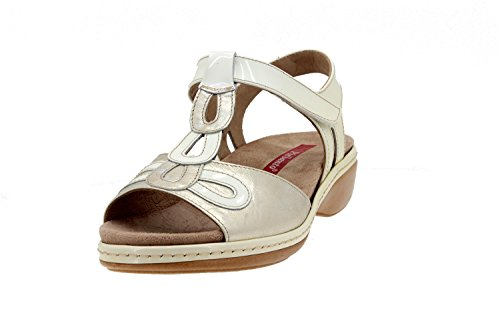 Sandale En Confort Semelle Cuir Nieve Femme Amovible Chaussure Comfortables Amples 4820 Piesanto 4qY0nAWt7q