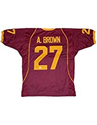 Antonio Brown Autographed Jersey -  27 - JSA Certified - Autographed  College Jerseys 4c89f8938