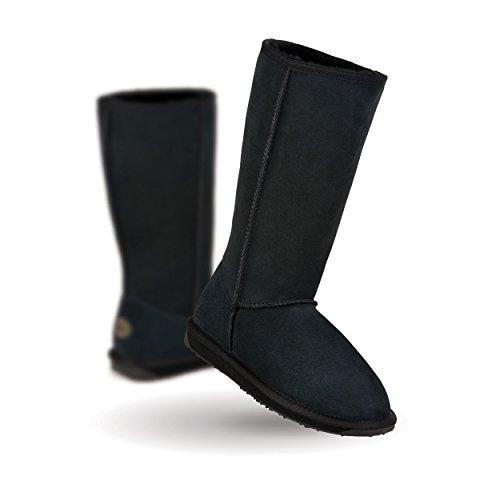 EMU Australia Women's Stinger Hi Mid-Calf Boot,Black,7 M US (Emus Boots)