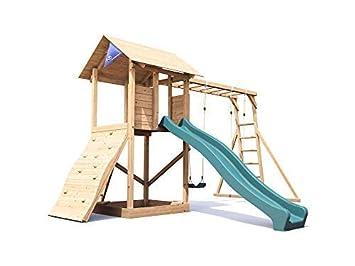 Klettergerüst Schaukel : Kidkraft ainsley outdoor klettergerüst aus holz für kinder mit