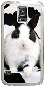 Animals & Birds Spotted-Rabbits Cases for Samsung Galaxy S5 I9600 with white Skin