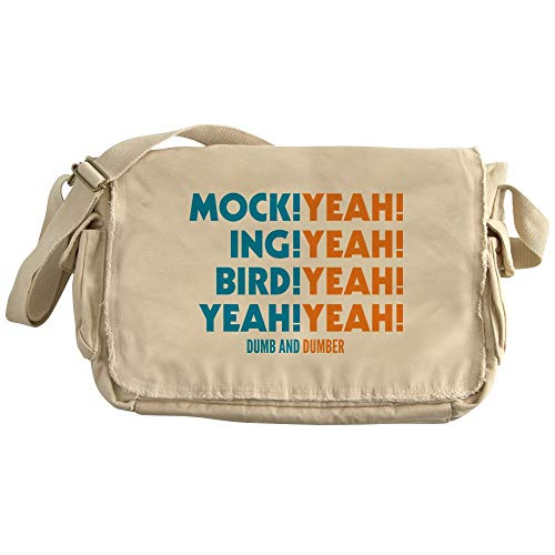 CafePress Mockingbird Dumb And Dumber Unique Messenger Bag,