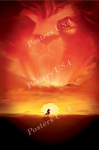 Posters USA Disney Classics The Lion King Poster - DISN089 )