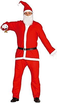 Guirca- Disfraz Papá Noel adulto, Color rojo, talla L (42692.0 ...