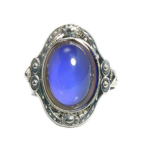 angel3292 Clearance Deals!!Vintage Unisex Mood Changing Color Ring Adjustable Temperature Control Band -