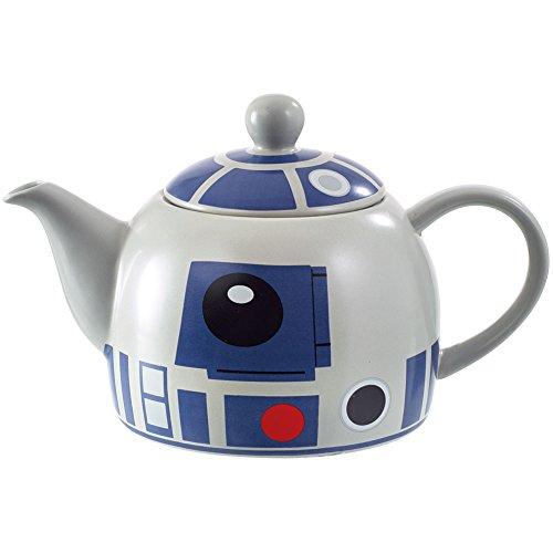 "Star Wars Collectible R2-D2 Droid Character 6"" Diameter 36 Oz Ceramic Teapot"