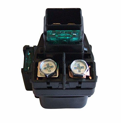 shamofeng Starter Relay Solenoid For Suzuki LTA LTF 400 500 Eiger 400 Vinson 500 2002-2007 Replace SUZUKI - 400 Relay