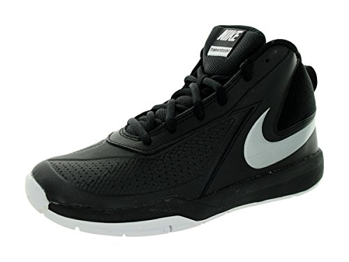Nike Kids Team Hustle D 7 (GS) Black/Mtllc - Nike Basketball Sneakers Black