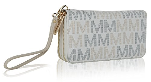 MKF Collection Hofstra M Signature Wallet Wristlet by Mia K -
