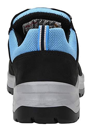 ELTEN Chaussures de sécurité LOTTE aqua Low ESD, 36, bleu, 1