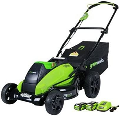 Greenworks 19-Inch Lawn Mower, 2500502