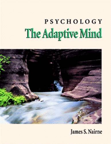 Psychology: The Adaptive Mind