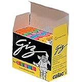Calac 3672, Giz Escolar, Plastificado, Multicolor