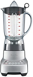 Breville BBL405BAL Hemisphere Twist Blender : sturdy, makes excellent smoothies