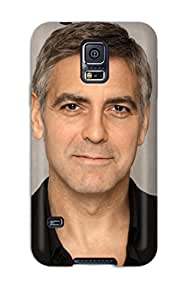 Fashion PrHoOZc3492lOqaY Case Cover For Galaxy S5(george Clooney )