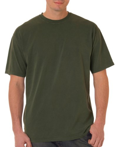 Chouinard Men's Classic Heavyweight Rib Knit Collar T-Shirt, Hemp, X (Heavyweight Hemp)
