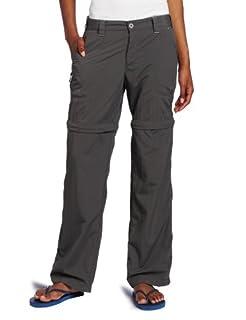White Sierra Women's Sierra Point 31-Inch Inseam Convertible Pant, Large, Caviar (B006WMAE1U) | Amazon Products