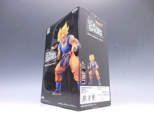 Dragon Ball Z Dramatic Showcase 3rd Season Vol.1 Super Saiyan Son Gokou Banpresto Japan