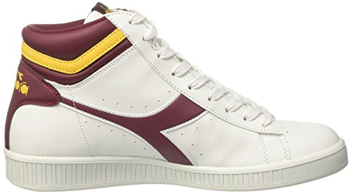 low shipping cheap online with credit card cheap online Diadora Men's Game P High Hi-Top Trainers Multicolor (Bco/Vla Prugna/Gll Giunchiglia) for sale online store free shipping get authentic iK64A5
