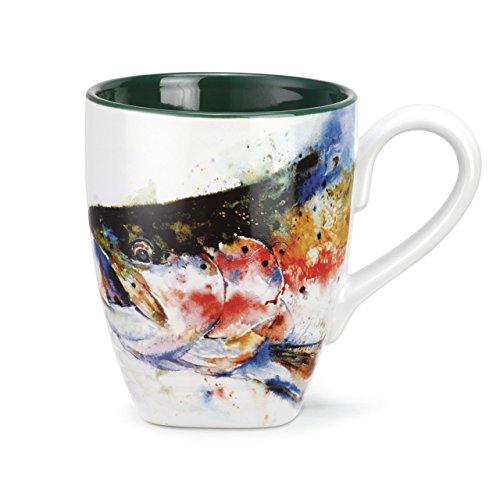 Big Sky Carvers Trout Mug, 16-Ounce, Multicolor