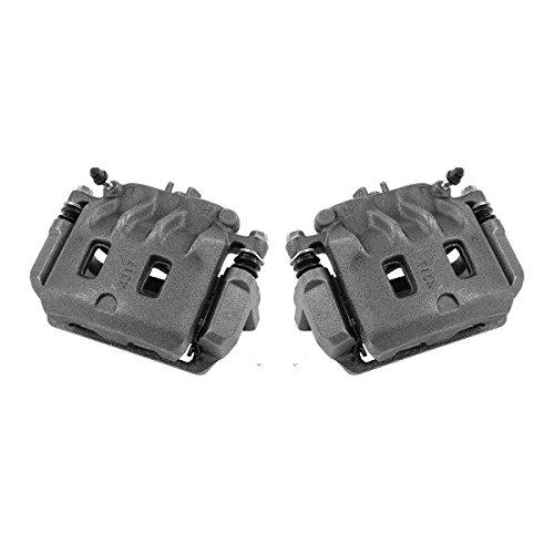 CCK01489 [ 2 ] FRONT Premium Grade OE Semi-Loaded Caliper Assembly Pair Set