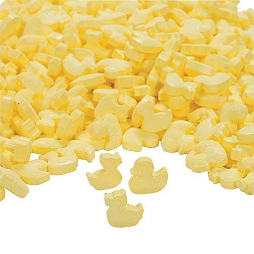 Fun Express - Yellow Duckie Candies - Edibles - Hard Candy - Baby Shower - 1 lb bag ()